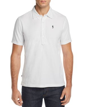 OOBE King St. Polo Shirt in White