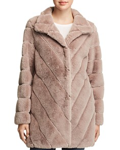 Calvin Klein - Faux Fur Coat