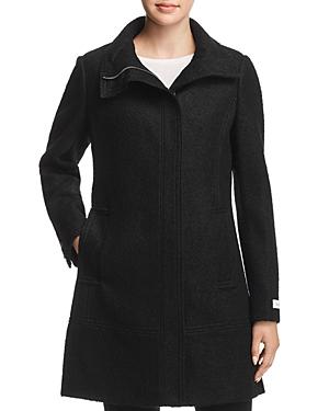 Calvin Klein Seamed Boucle Coat