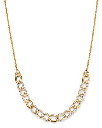Bloomingdale's - Diamond Chain Bolo Necklace in 14K Yellow Gold, 1.50 ct. t.w. - 100% Exclusive