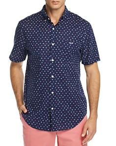 Vineyard Vines - Dock Street Printed Short-Sleeve Slim Fit Button-Down Shirt