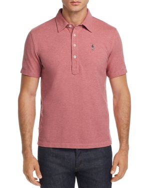 OOBE King St. Polo Shirt in Rose Heather