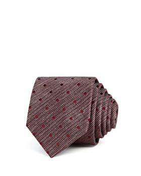 HUGO - Textured Tonal-Dot Skinny Tie