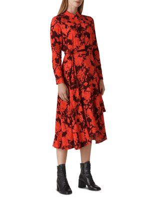 Esme Mackintosh Print Dress by Whistles