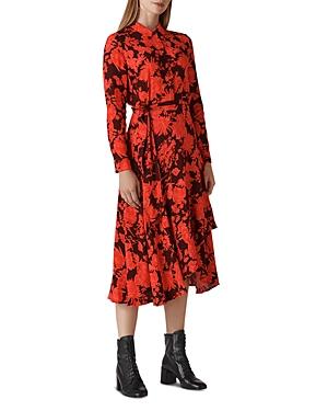 Whistles Esme Mackintosh-Print Dress
