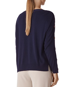 Whistles - Button-Detail Sweater