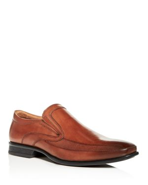 KENNETH COLE MEN'S EXTRA OFFICIAL LEATHER SQUARE TOE LOAFERS