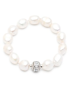 Carolee Large Cultured Freshwater Pearl Single Row Magnetic Bracelet - Bloomingdale's_0