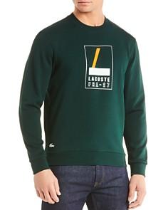Lacoste Logo-Print Fleece Sweatshirt - Bloomingdale's_0