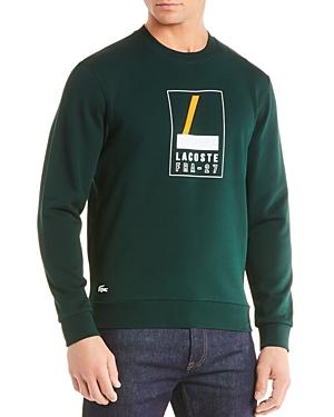 Lacoste Logo-Print Fleece Sweatshirt