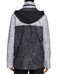 adidas Originals - Universe Splatter-Print Color-Block Pullover Windbreaker Jacket
