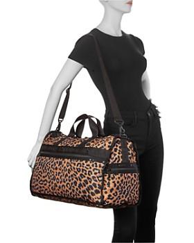 LeSportsac - Candace Leopard Print Weekender Duffel Bag