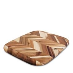 "Architec Herringbone Acacia Cutting Board, 12.5"" x 14.5"" - Bloomingdale's_0"