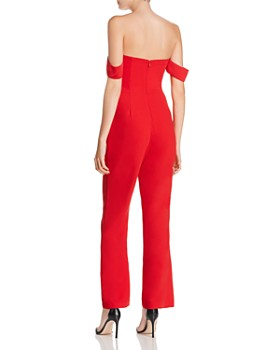 Adelyn Rae - Woven Strapless Jumpsuit