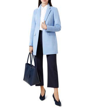 Tia Coat in Pale Blue