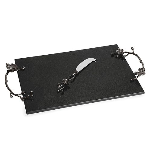 Michael Aram - Black Orchid Cheese Board & Knife