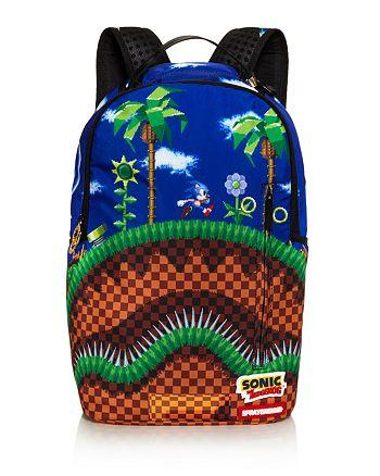 Sprayground Sonic The Hedgehog Shark Backpack Bloomingdale S