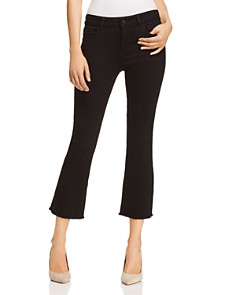DL1961 - Lara Instasculpt High Rise Cropped Boot Jeans in Henderson
