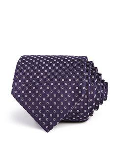9434efb9f8ea Armani Neat Circle-Medallion Silk Classic Tie | Bloomingdale's
