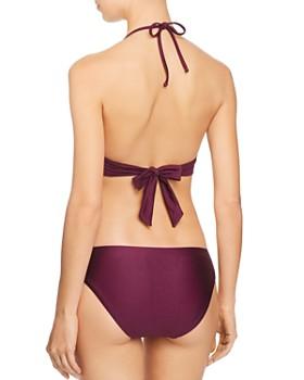 BECCA® by Rebecca Virtue - Siren Shimmer Halter Bikini Top & Siren Shimmer Tab American Bikini Bottom