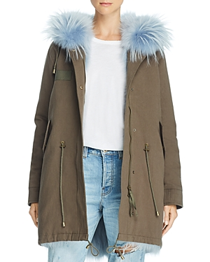 Peri Luxe Fur-Trimmed Parka - 100% Exclusive