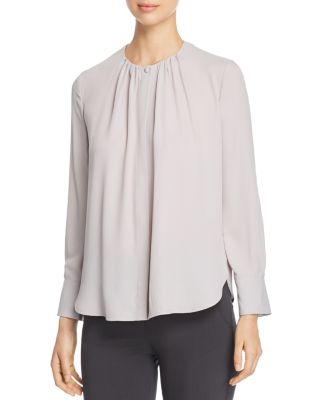 Shirred Blouse by Emporio Armani