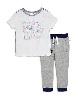 Splendid Boys' Camping Graphic Tee & Jogger Pants Set - Baby
