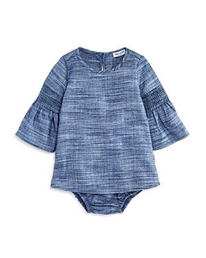 Splendid Girls' Bell-Sleeve Dress & Bloomers Set - Baby
