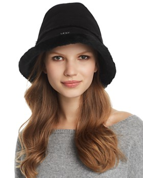 UGG® - Shearling Bucket Hat
