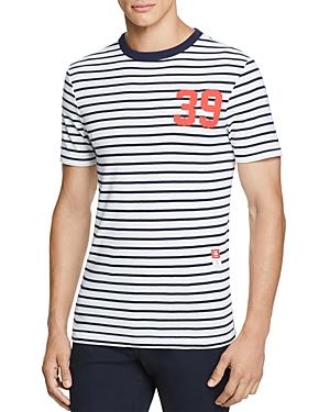 G-star Raw Cool Rib Striped Graphic Tee