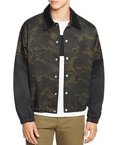 Helmut Lang - Camouflage-Print Coach Jacket