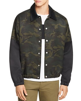 Helmut Lang - Camouflage-Print Coach Jacket