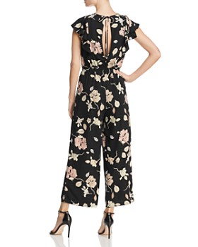 Lost and Wander - Floral-Print Jumpsuit