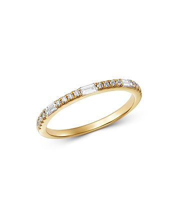 Bloomingdale's - Diamond Stacking Ring in 14K Yellow Gold, 0.25 ct. t.w. - 100% Exclusive