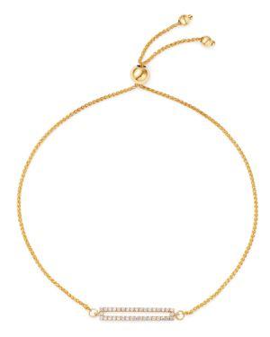 Bloomingdale's Diamond Bolo Bracelet in 14K Yellow Gold, 0.15 ct. t.w. - 100% Exclusive