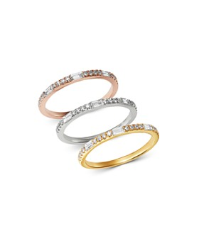 Bloomingdale's - Diamond Stacking Ring in 14K Gold, 0.25 ct. t.w. - 100% Exclusive