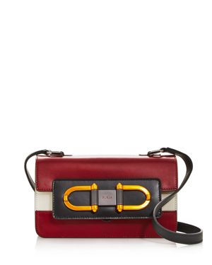 Furla Bellaria Mini Color-Block Leather Crossbody