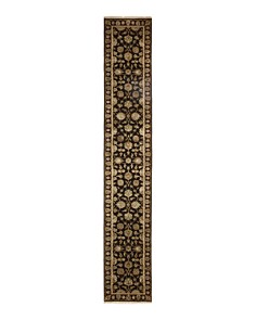 """Solo Rugs - Oushak Trier Hand-Knotted Runner Rug, 2'8"""" x 16'3"""""""