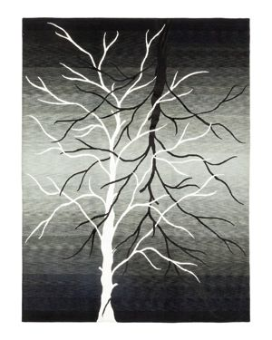 Solo Rugs Modern Kylie Hand-Knotted Area Rug, 9' 1 x 12'