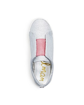 Sam Edelman - Girls' Bella Emma Glitter Slip-On Sneakers - Toddler, Little Kid, Big Kid