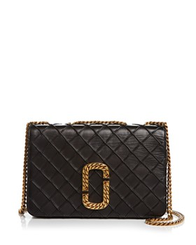 MARC JACOBS - Trouble Medium Leather Shoulder Bag