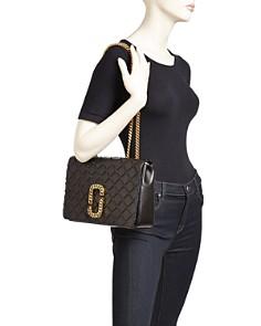 MARC JACOBS - Trouble Medium Leather Shoulder Bag