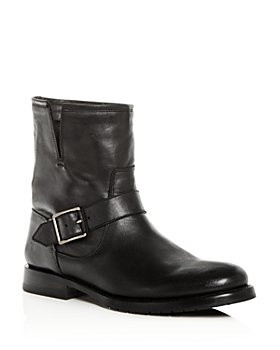 Frye - Women's Natalie Leather Moto Boots