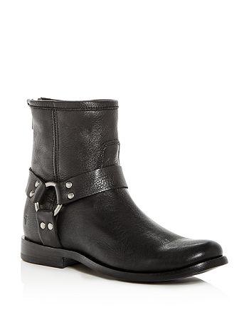 Frye - Women's Phillip Leather Moto Boots