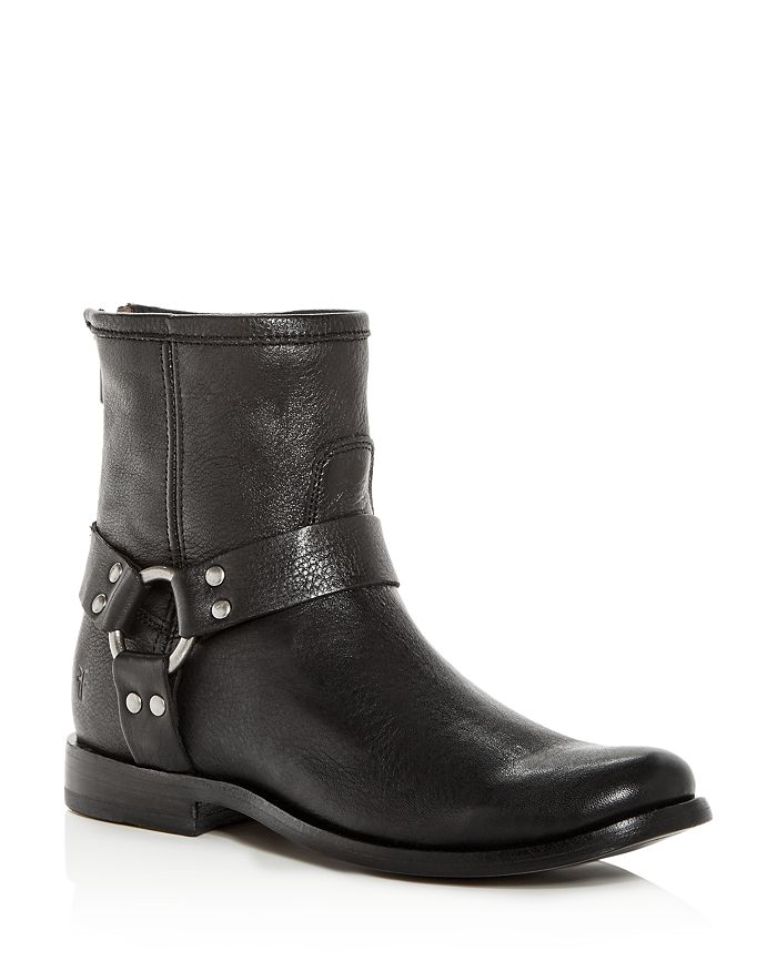 Frye - Women's Phillip Leather Moto Boots