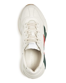 Gucci - Men's Leather Lace Up Sneakers