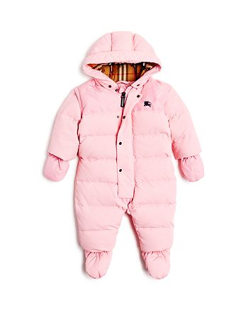e18242f19 Burberry Girls  Alnswick Down Puffer Snow Suit - Baby