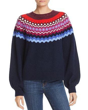 efbc13e90af Joie - Karenya Fair-Isle Sweater