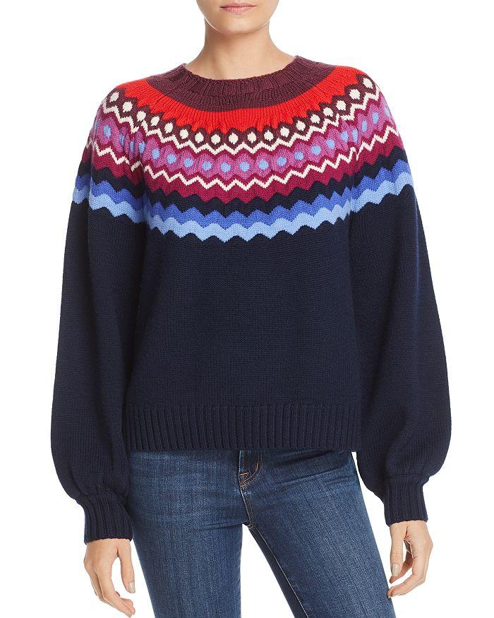 2491782b4 Joie Karenya Fair-Isle Sweater