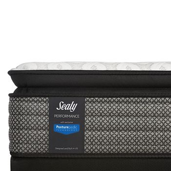 Sealy Posturepedic - Sealy Adams Street Tied Top Twin Mattress Only - 100% Exclusive